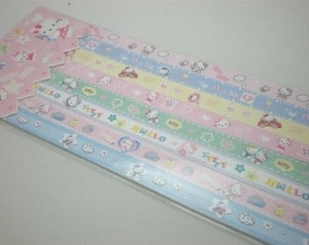 Kitty Origami Lucky Star Folding Paper (Part II) - pack of 160 strips