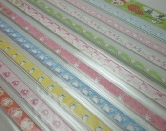 Kitty Origami Lucky Star Folding Paper (Part VII) - pack of 60-70 strips