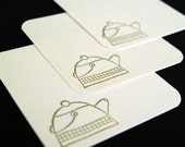 Set of 12 Mini Note Cards - Little Teapot