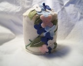 Cascade of Flowers Felt Pincushion