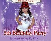 Wizards of Waverly Place Birthday Invitation
