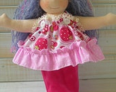 "Mermaid waldorf  doll 12"""