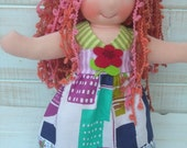 """today only very low price -  waldorf doll 12.5"""""""