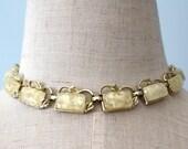 Vintage AURORA BOREALIS Bead Necklace