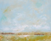 Abstract Landscape Original Painting -Marshall View 24 x 36