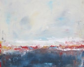 Abstract Seascape Ocean Original Art-  Fourth on the Coast