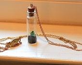 Bonsai succulent necklace