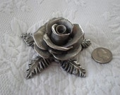 Realistic and Beautiful Everlasting Rose Paperweight Sculpture