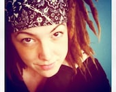 Bad Ass Wrap, size M or L - biker skullcap, yoga headband, dread wrap