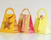 DIY - Basic Purse Gift Bag Template  - Print & Cut