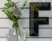 Reserved for Charlene: Three Large Black Plexi Letters, your choice