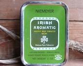 Vintage Irish Aromatic Pipe Tobacco Tin, England