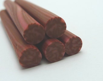 S156 Yummy Food - Salami - Polymer Clay Cane for Miniature Food Deco and Nail Art