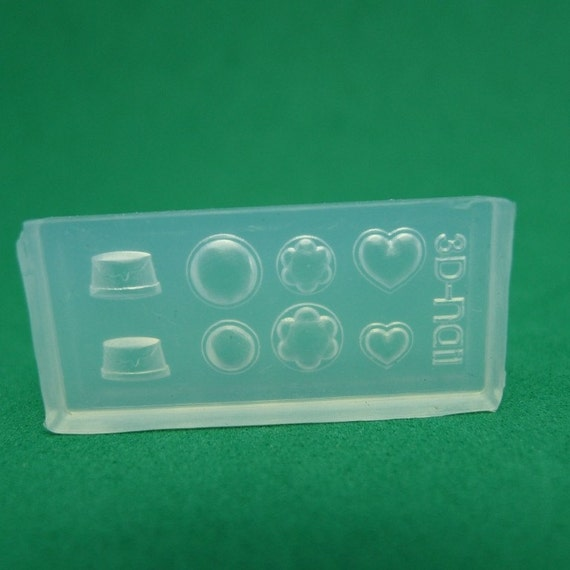 M30 Flexible Mold/Mould - 8 in 1 - Jelly and Pudding for Making Miniature Food / Doll House Deco / Jewelry Making /Nail Art