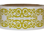 Tape-Packing Tape-Mailing Tape-Shipping Tape-Deco Tape-Yellow Scroll
