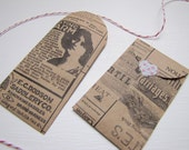 Envelope-Kraft Envelope-Vintage Style-Coin Envelope-Stationary-Tiny Envelope