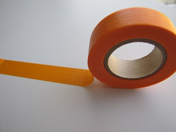 Japanese Masking Tape-Washi Tape-Deco Tape-Single Roll-Perfect for packaging and scrapbooking