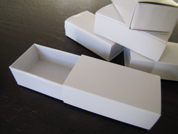 Paper Matchbox-Match Box-Slide Boxes-Perfect for packaging-Jewelry Box-Gift Box