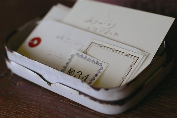 Tiny Labels-From Japan-Perfect for Scrapbooking and Organization-