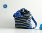 NzLbags Kids Backpack New - Sweet Colors Knit Bag - Nr-009