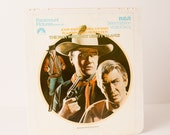 Vintage John Wayne The Man Who Shot Liberty Valance VideoDisc Movie, Great Home Decor