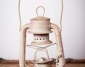 Vintage Metal Dietz Comet Lantern, Rustic Display Piece