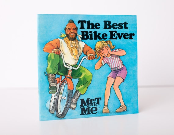 Vintage 1985 Mr. T and Me PB Book, The Best Bike Ever