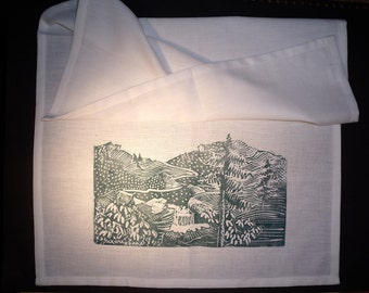 Mountains Tea Towel