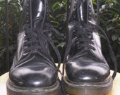 Black Doc Marten Boots RESERVED
