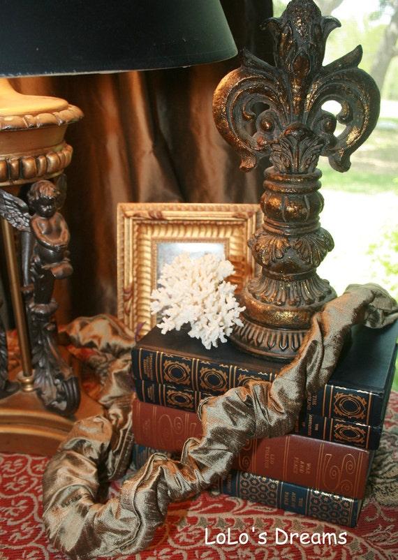 chandelier chain cord cover velcro white silk by lolosdreams. Black Bedroom Furniture Sets. Home Design Ideas