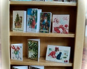DOLLS HOUSE  - Chistmas cards (set  - C)
