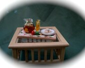 DOLLS HOUSE MINIATURES - Mulled Wine and Mince Pies Set