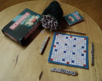 DOLLS HOUSE MINIATURES - SCRABBLE