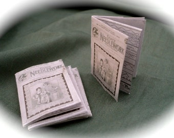 DOLLS HOUSE MINIATURES -1/12th  Period Sewing Magazine