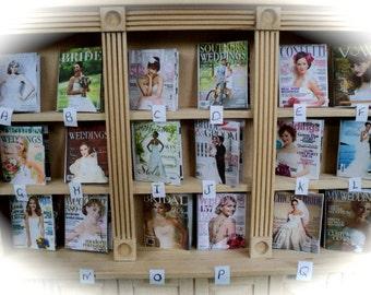 DOLLS HOUSE MINIATURES - 1/12th Bridal/Wedding Magazine x1 (assorted Magazines)