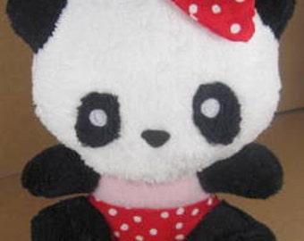SALE-PDF ePattern-Strawberry Panda Plushy