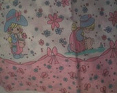 Precious Moments Pillow Cases Standard size Pink edge
