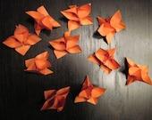Origami Flowers - Set of 10 - Orange