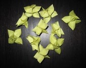 Origami Flowers - Set of 10 - Pale Green