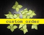Custom Order for considerlilies