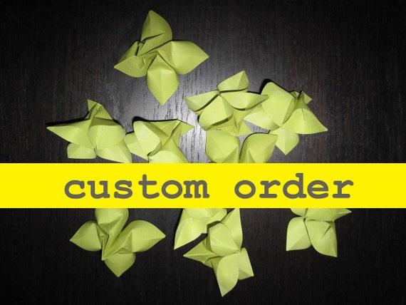 Custom Order for faerielux