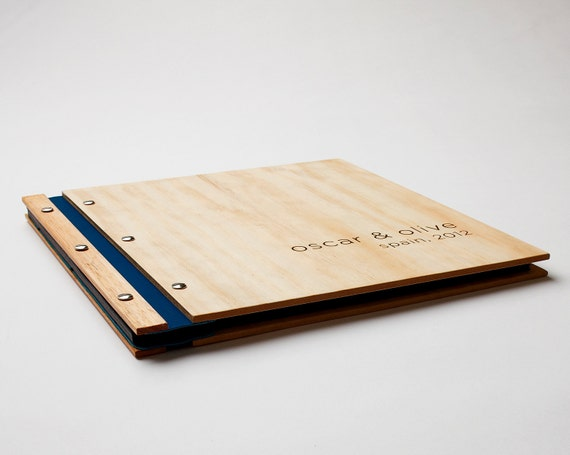Wood Album | Wedding Album | Wood Anniversary Gift | Engagement Gift | Holiday | Photobooth