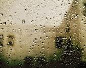 Original photograph - Rain drops