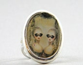 After holiday sale masquerade ring