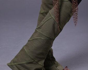 Tribal Patch Leg Warmer