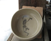 Dancing Skeleton bowl