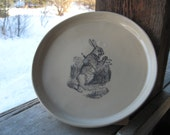White Rabbit plate