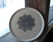 Celtic Lotus plate