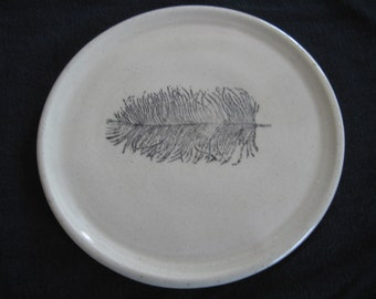 Feather Plume plate