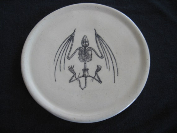 Bat Skeleton plate